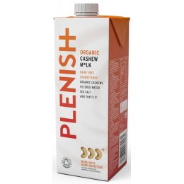 Plenish Organic Cashew Milk - 1L