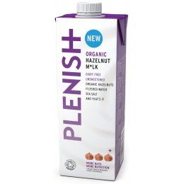 Plenish Organic Hazelnut Milk - 1L