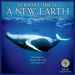 A New Earth 2019 Wall Calendar