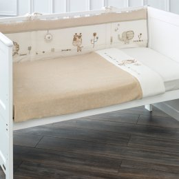 Sleepy Safari Baby Cot Bumper