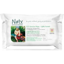 Naty Lightly Scented Sensitive Wipes - Pack Of 56