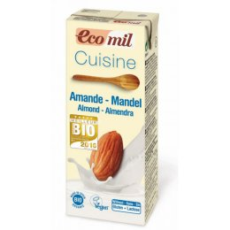 Ecomil Dairy Free Cuisine Almond Cooking Cream - 200ml