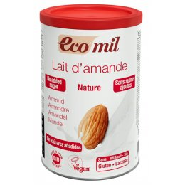 Ecomil Almond Milk Powder - No Added Sugar - 400g