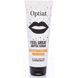 Optiat Mouthwatering Mandarin Coffee Scrub - 220g