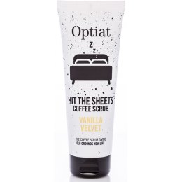 Optiat Vanilla Velvet Coffee Scrub - 220g