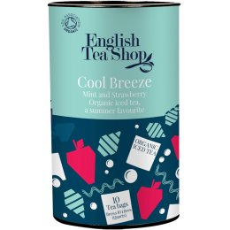 English Tea Shop Organic Iced Tea Bags - Cool Breeze - 10 Bags
