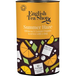 English Tea Shop Organic Iced Tea Bags - Summer Haze - 10 Bags