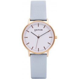 Votch New Collection Vegan Leather Watch - Rose Gold