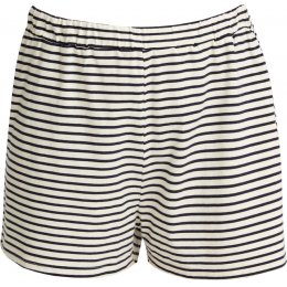 People Tree Organic Pyjama Shorts - Navy Stripe