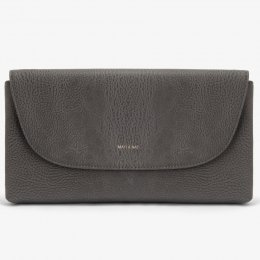Matt & Nat Vegan Charlotte Clutch Bag - Carbon
