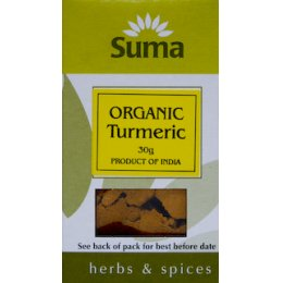 Suma Organic Turmeric Ground 30g