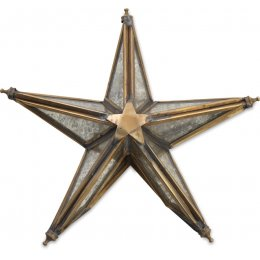 Bakara Antique Brass Star Tree Topper