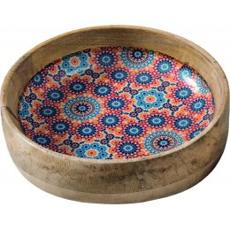 Moroccan Inspired Mango Wood Bowl