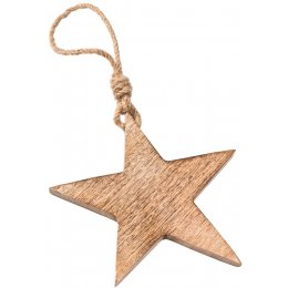 Large Wooden Hanging Star