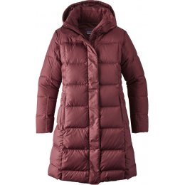 Patagonia Womens Down With It Parka - Dark Ruby