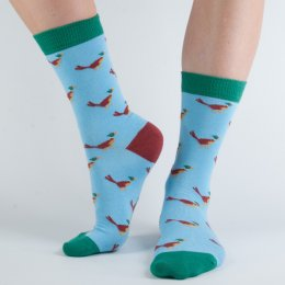 Doris & Dude Womens Pheasant Bamboo Socks