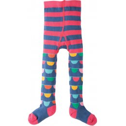 Frugi Bunting Stripe Little Norah Tights