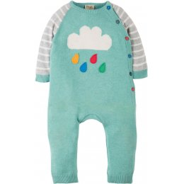 Frugi Cosy Knitted Cloud Romper