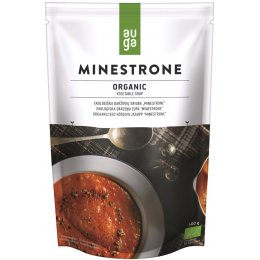Auga Organic Vegetable Minestrone Soup - 400g