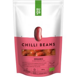 Auga Organic Red Beans In Spicy Sauce - 400g