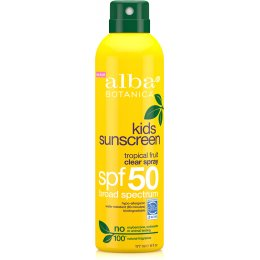 Alba Botanica Kids Clear Sunscreen Spray SPF50 - 177ml