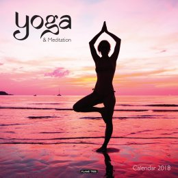 Yoga & Meditation 2018 Wall Calendar
