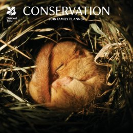 National Trust Conservation 2018 Wall Calendar