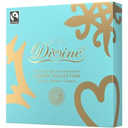 Divine 70 percent  Dark & Milk Luxury Chocolate Selection - 160g