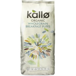 Kallo Wholegrain Puffed Rice Cereal 225g