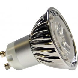 GU10-SMDN Lumilife LED Light Bulb 3 Watt (45W Equivalent) - Cool White