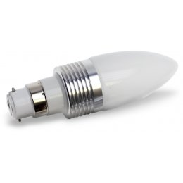 B22-240 Lumilife LED Bayonet Light Bulb 3 Watt (40W Equivalent) - Cool White