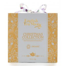 English Tea Shop Organic Christmas Collection Gold Gift Cube - 96 Sachets