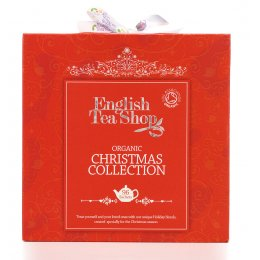 English Tea Shop Organic Christmas Collection Red Gift Cube - 96 Sachets