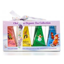 English Tea Shop Organic White Christmas Prism Gift Box