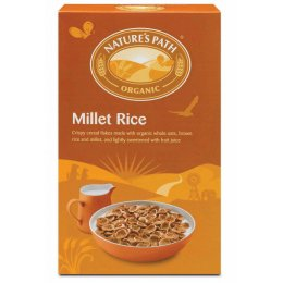 Natures Path Organic Millet Rice Flakes 375g