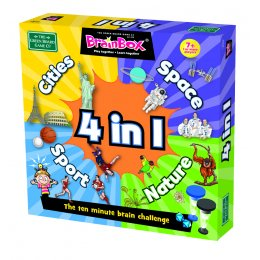 Brainbox 4 In 1 Board Game
