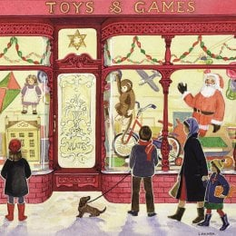 Toys and Games Christmas Charity Cards - Pack of 5