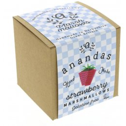 Anandas Handmade Strawberry Marshmallows 80g