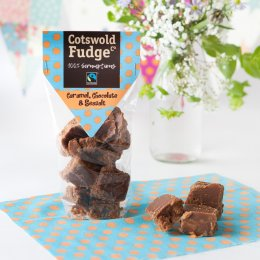 Cotswold Fudge - Caramel, Chocolate & Sea Salt - 150g