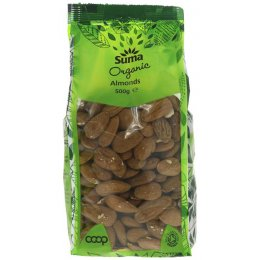 Suma Prepacks Organic Almonds 500g