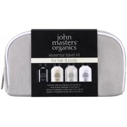 John Masters Organics Essential Travel Kit for Hair & Body