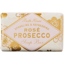 The Bath House Rose Prosecco Soap Bar - 100g