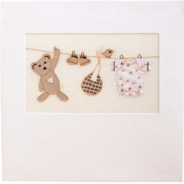 Handmade New Born Baby Card