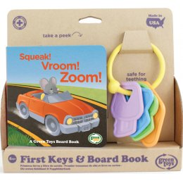 Green Toys Recycled First Keys & Board Book