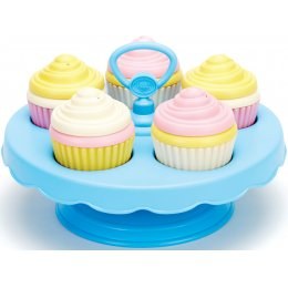 Green Toys Recycled Toy Cupcake Set