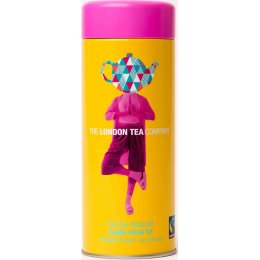 London Tea Company The Tea-Totaller Jasmine Green Pyramid Tea Gift Tin - 15 bags