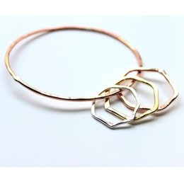 LA Jewellery Recycled Nourish Bangle