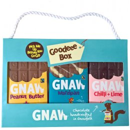 Gnaw Fair Trade Chocolate Pick Me Up Before You Go Go Goodeee Box - 300g