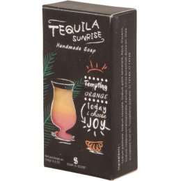 Handmade Tequila Sunrise Cocktail Soap Bar - 120g