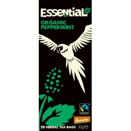 Essential Trading Organic Peppermint Tea - 20 bags
